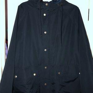 Old Navy Navy Raincoat